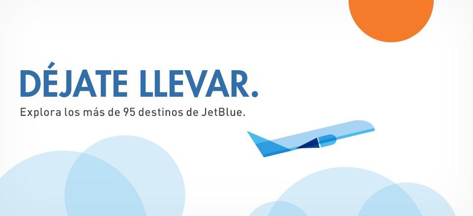 Ofertas de Viajes. Explora más de 95 destinos de JetBlue.