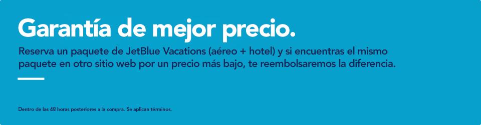 JetBlue Vacations Best Price Guarantee