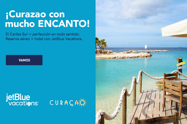 Curacao with even more WOW! The Southern Caribbean equals perfection in every direction. Book air and hotel with JetBlue Vacations. Let's go.
