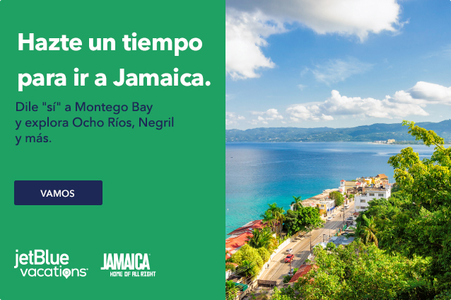 Make-a time for Jamaica. Say 'ya, mon' to Montego Bay and explore Ocho Rios, Negril and more. Let's go.