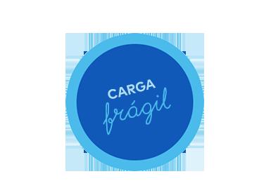 Fragile Sticker Icon